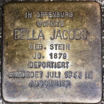 Jacobs, Bella geb. Stein
