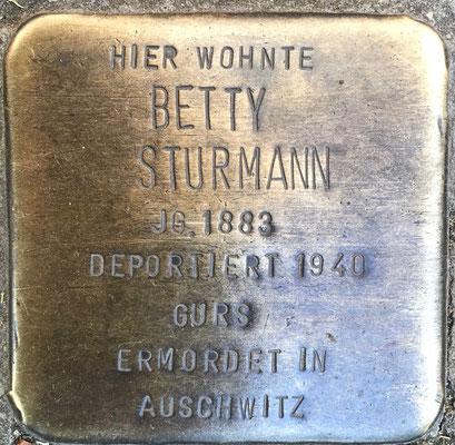Betty Sturmann