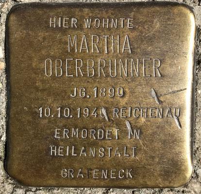 Martha Oberbrunner