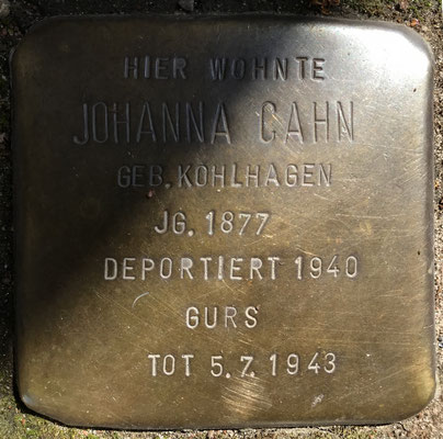 Johanna Cahn