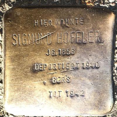 Sigmund Hofeler