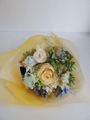 発表会のお花にプリザーブドフラワーアーティフィシャルフラワー