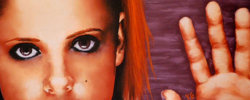 Sarah Michelle Gellar, pastel (2004)