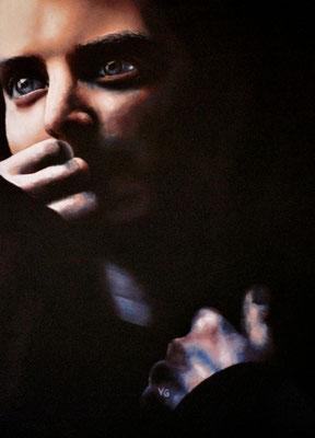 Elijah Wood, pastel (2004)