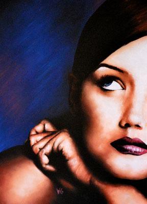 Katie Holmes, pastel (2004)