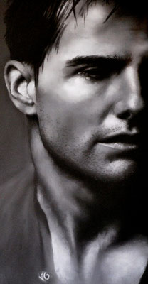 Tom Cruise, pastel (2005)