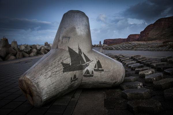 Befreiung von einem dänischen Kaperschiff welches die Insel belagerte um 1700