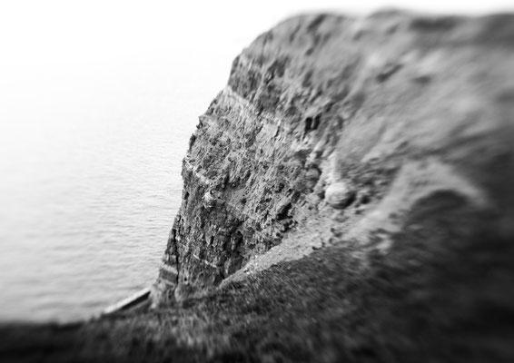 """""""Steilküste II""""  aus der Serie """"Grün Rot Weiß"""""""