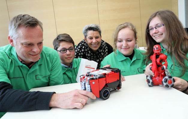 Roboter AG, Humboldt-Gymnasium Solingen