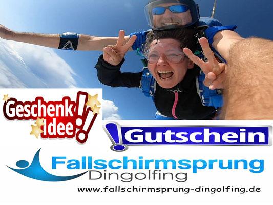 Fallschirmspringen Nürnberg Gutschein
