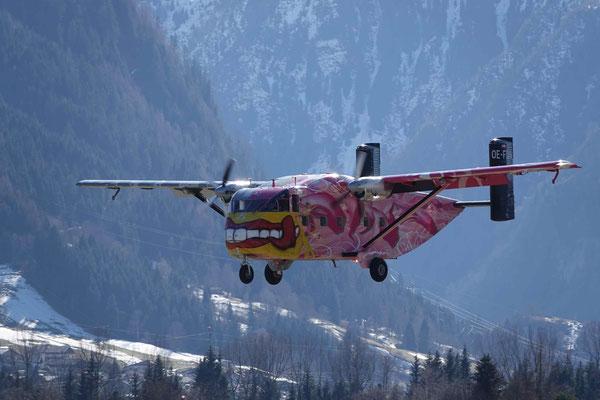 Fallschirmspringen Geschenkidee Salzburg