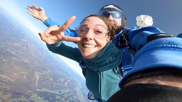Fallschirmspringen Weiden Geschenk Gutschein