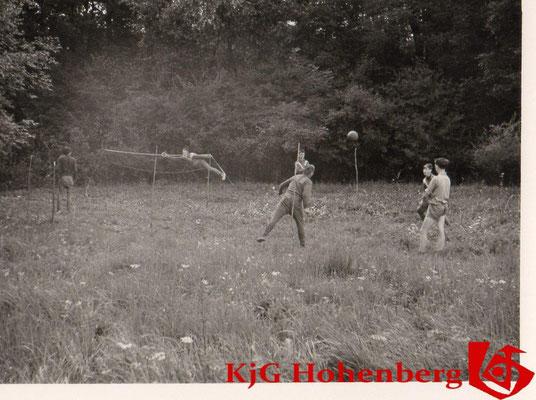 1965-1966 - Zelten in Senden / Illerzell