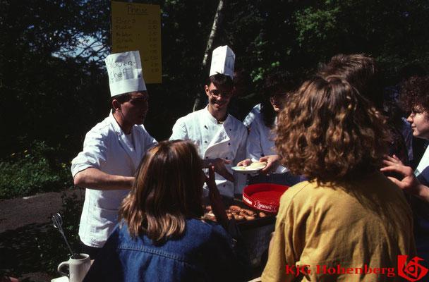 1993 - Frühschoppen an Fronleichnam