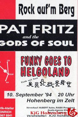 1994 - Programmheft Rock auf'm Berg