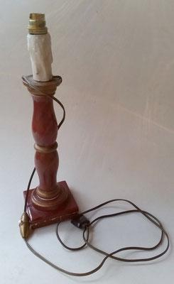 Pied de lampe bois - avant