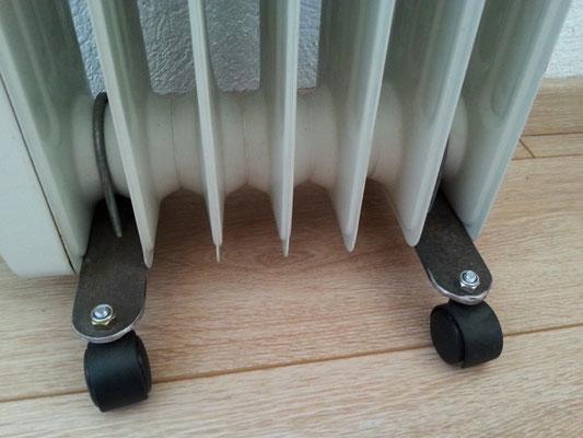 Pieds de radiateur