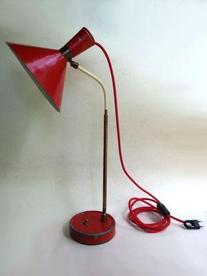 Lampe de bureau - après mise aux normes électrique
