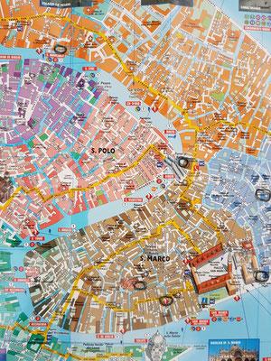 5 Stadtplan mit Anlaufstellen der Kunden