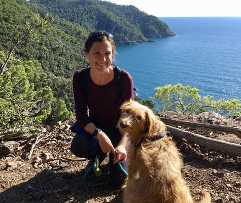 Heidi Pfeiffer, hiking guide, nature guide, Levanto