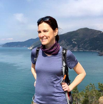 Heidi Pfeiffer, guided hiking tour, Cinque Terre