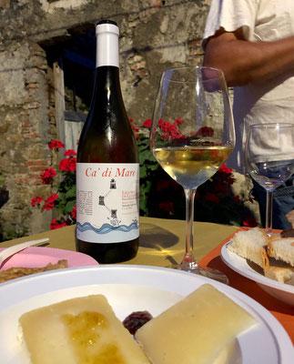 wine tasting, Vermentino Ca' di Mare