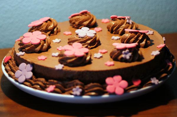 Schoggimousse-Torte