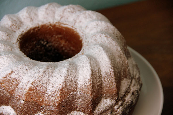 Marmorgugelhupf, spezial mit extra viel Schokolade