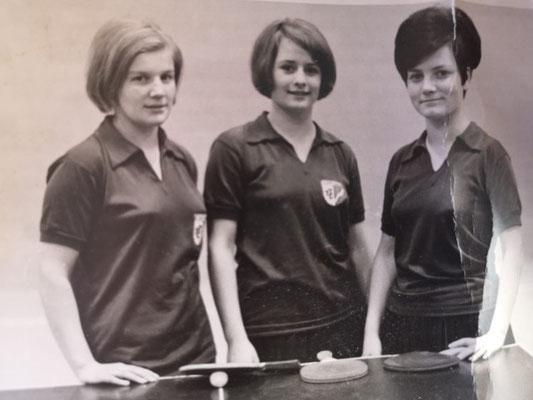 Antonia Gorbach, Sisy Wäscher und Maria Schwarz