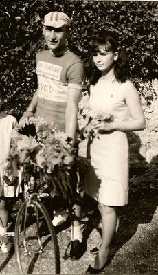 Michel Malassenet vainqueur a Paulnay en Aout 1967