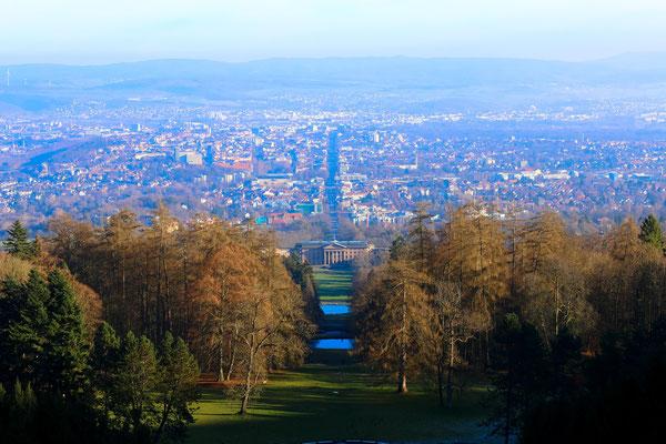 Парк Вильхельмсхёэ (Wilhelmshöhe) занесён в список наследия  ЮНЕСКО, Кассель (Kassel), 2015