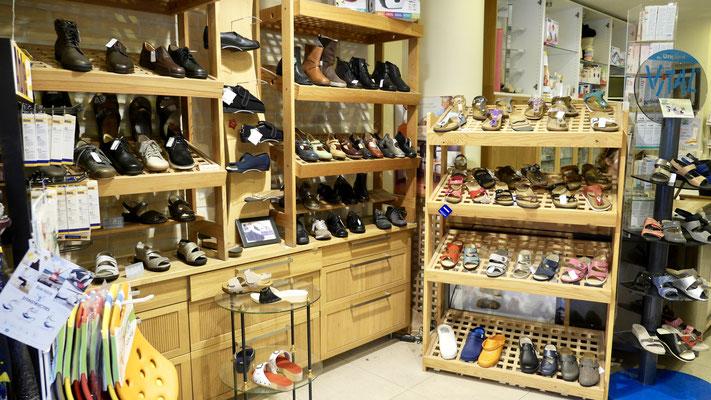 Notre espace chaussures orthopédiques Luc Medical Bruxelles