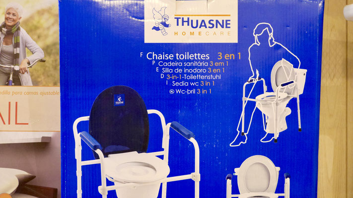 Rehausse wc Thuasne Luc Médical
