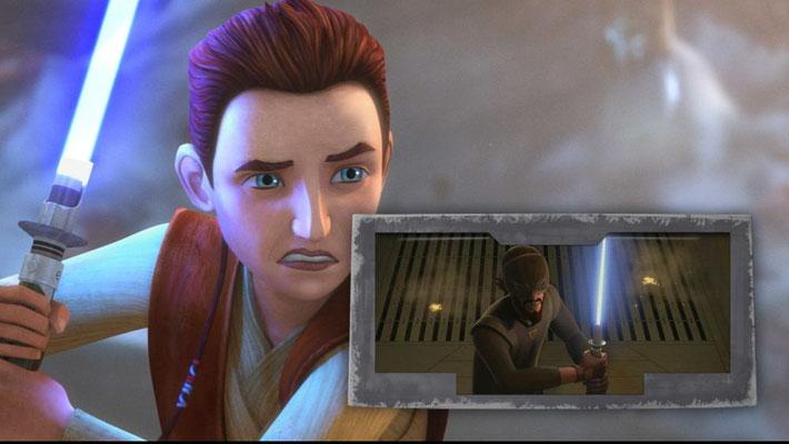 Freddie Prince Jr., der Kanan Jarrus in Star Wars Rebels seine Stimme lieh, übernimmt auch die Rolle von Caleb Dume.