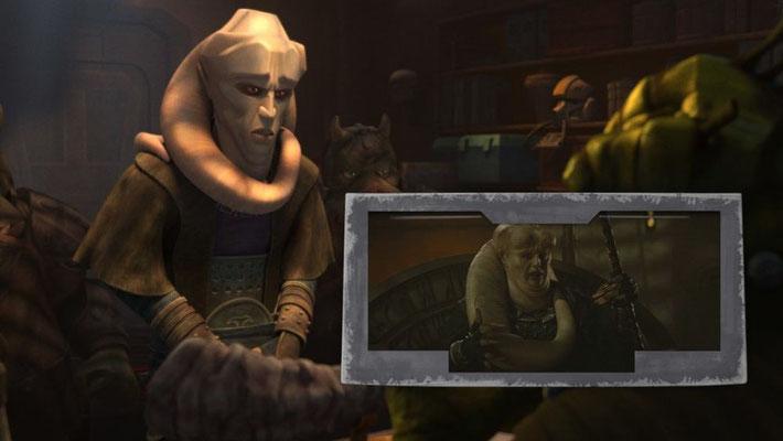 Matthew Wood verleiht Bib Fortuna seine Stimme, dem Supervising SoundEditor der Serie. Außerdem spielte er ihn in Episode I und The Mandalorian