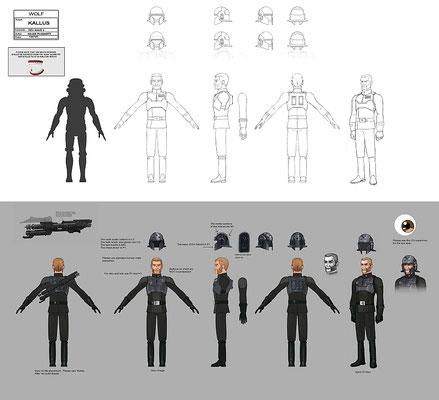 Agent Kallus Charakter Illustration