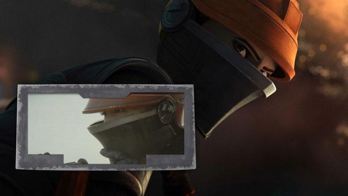 Fennec Shand feiert in dieser Episode ihr Debut als animierter Charakter. Sie war erstmals in The Mandalorian zu sehen und ist in The Bad Batch gut 30 Jahre jünger