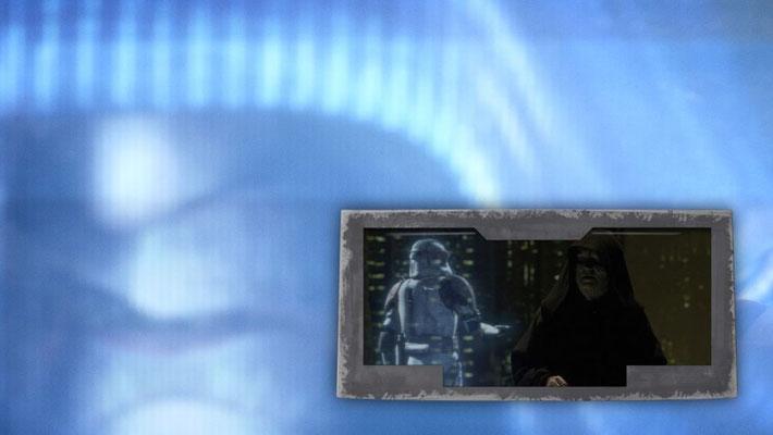 Die Szene, in der das Imperium ausgerufen wird, wurde mit einer anderen Musik als in Episode III unterlegt.