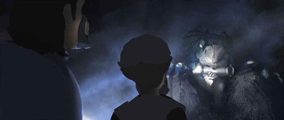 Hunter, Omega und Ordo Mond-Drache Beleuchtungskonzept