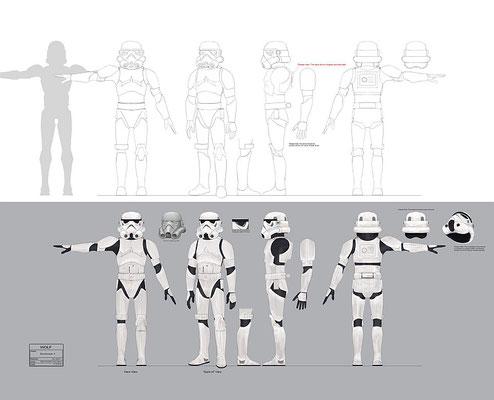 Stormtrooper Charakter Illustration
