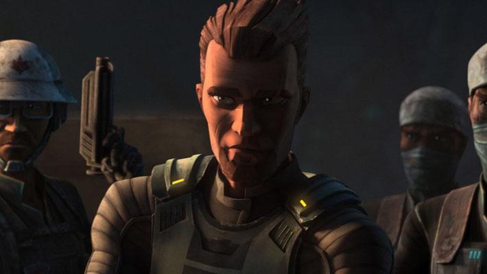 Andrew Kishino, die Originalstimme Saw Gerreras aus The Clone Wars, kehr auch für The Bad Batch zurück.