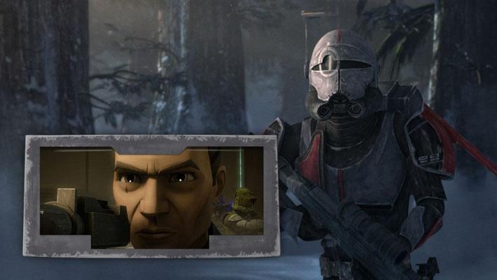 """""""Gute Soldaten folgen Befehlen"""" ist ein aus The Clone Wars bekanntes Sprichwort. Es wurde zuerst von Klon-Soldat Tup ausgesprochen, als sein Inhibitor-Chip in der sechsten Staffel vorzeitig aktiviert wurde."""