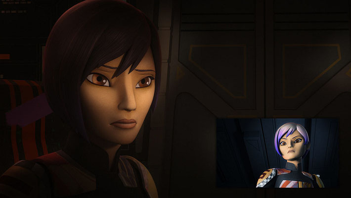 Sabines Design wurde etwas geändert. Die jetzige Haarfarbe soll sie für den Rest der Staffel behalten, der Rest wird nur für die Undercovermission beibehalten.