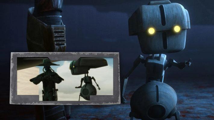 In The Clone Wars wurde Todo 360 von Cad Bane komplett in die Luft gesprengt, nachdem der Kopfgeldjäger eine Bombe in ihm platziert hatte. Offenbar wurde der Droide wieder zusammengebaut, ist seinem Herrn aber nach wie vor loyal