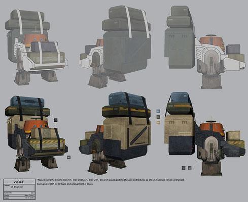 CH-3R Konzeptzeichnung von Jason Pichon