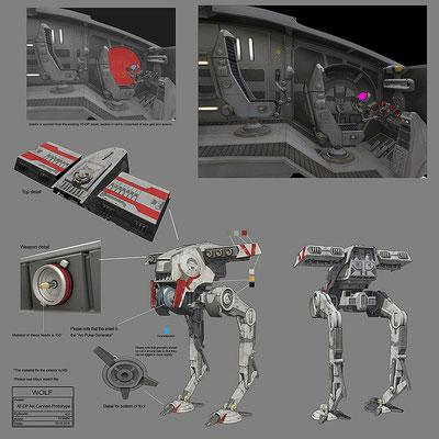 AT-DP mit Arc-Kanone Konzeptzeichnung von Eli Maffei