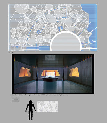Lothal Stadtplan Illustration von Chris Glenn