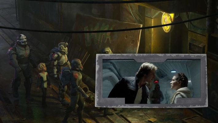 """Ord Mantell wurde erstmals in """"Das Imperium schlägt zurück"""" erwähnt als Han Solo auf Ärger mit einem Kopfgeldjäger auf dem Planeten hinweist"""
