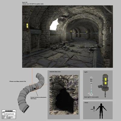 Senatoren-Villa Fluchttunnel auf Raxus
