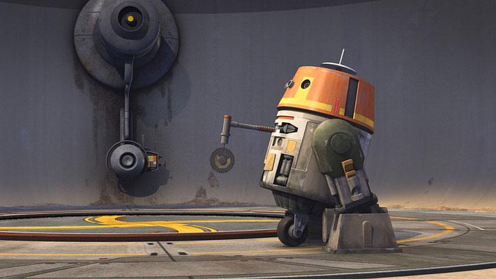 In dieser Episode sieht man erstmals, dass eine Kreissäge zu der Ausstattung von Chopper gehört.